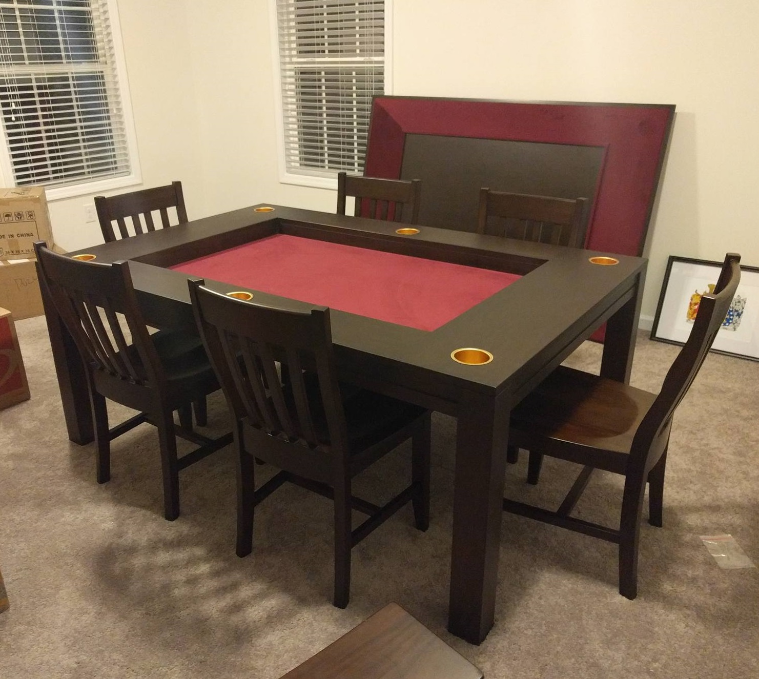 Cup holder for gaming tables!  BGEZPOB