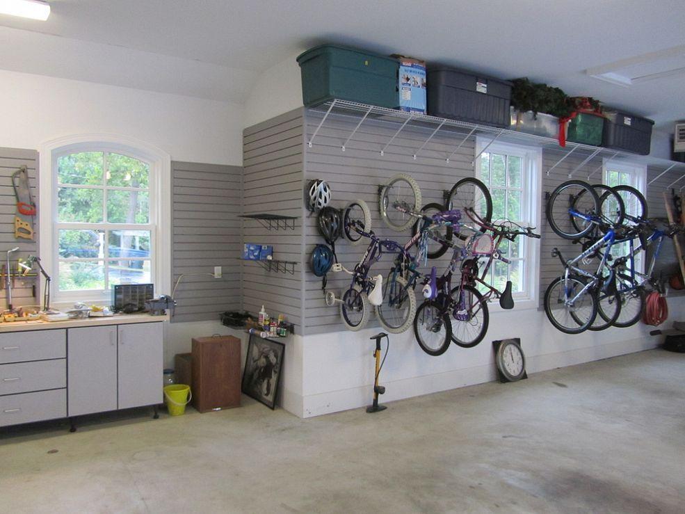 Garage organization Garage organization wall with storage wall for several storage solutions CCOKZKT