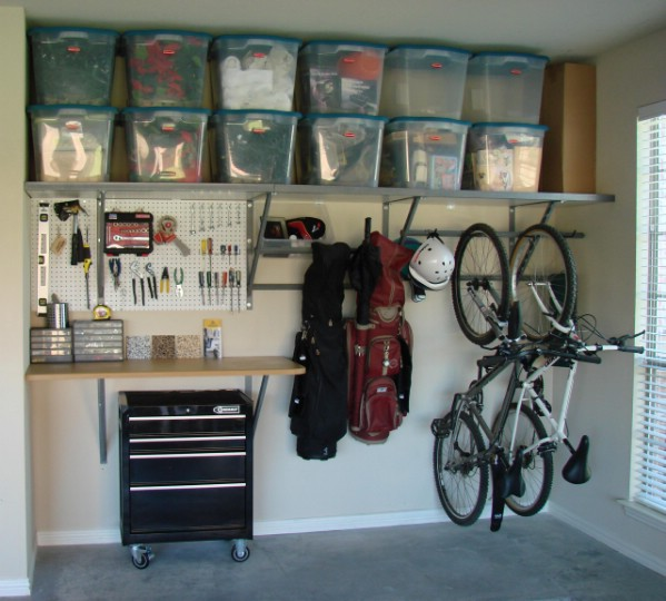 Garage Organizations Hang It All Up - 49 Brilliant Tips, Ideas, and DIY for Garage Organization LDGBRXW