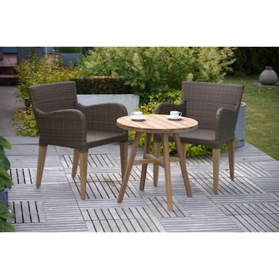 garden-bistro-sets savoy-rattan-teak-bistro-set.jpg ... NXUJALS