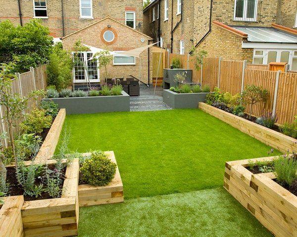 Garden design ideas Backyard design ideas Garden sleepers Raised beds Ideas MNQOAVU