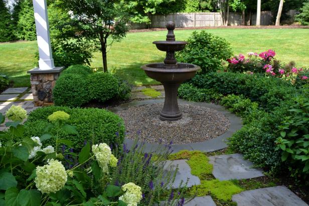 Garden design ideas Garden fountain function ZMUIZQU