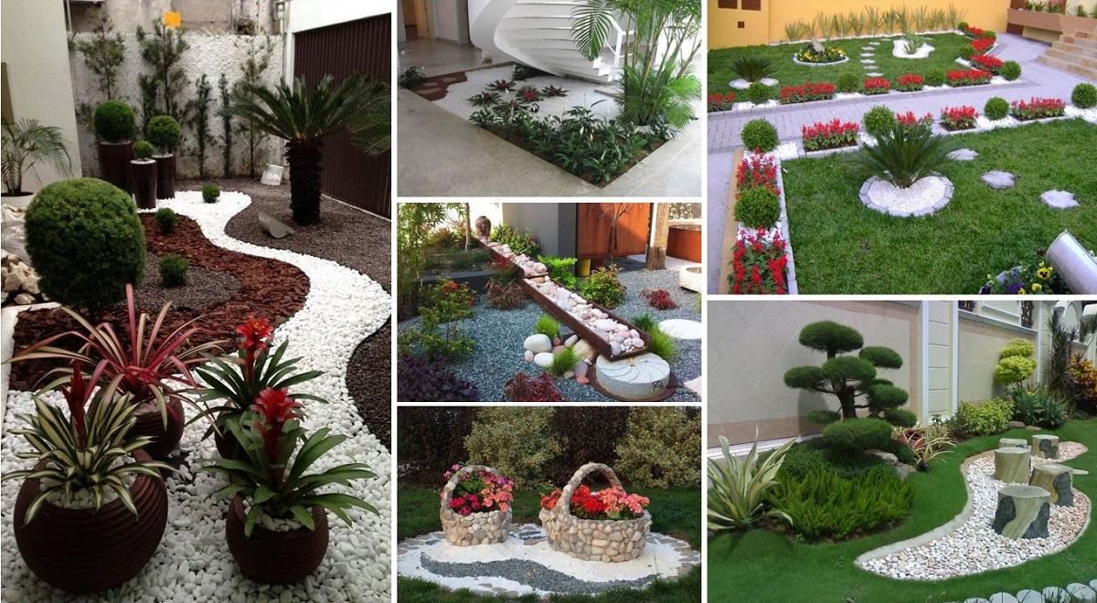 Garden design ideas with pebbles SEZMAHM