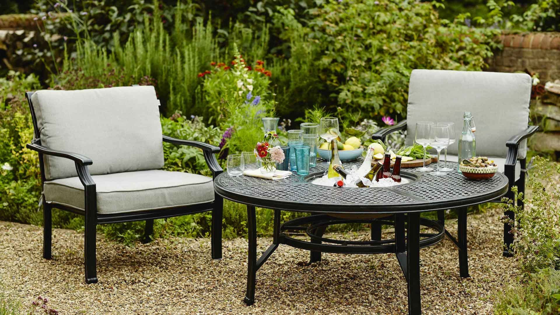 Garden Jamie Oliver Outdoor Furniture Dining Set Incredible Fire Pit Chairs TBDMHJH