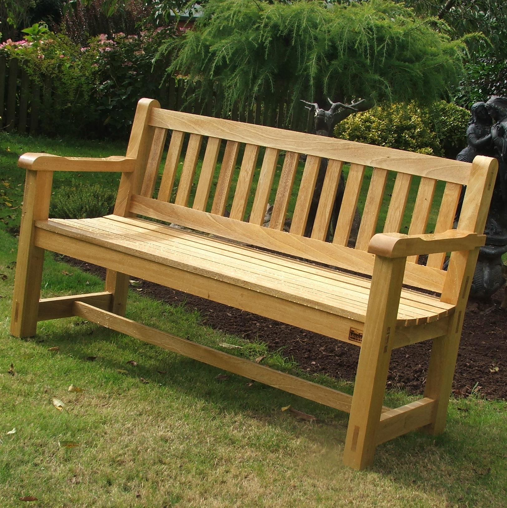 Wooden garden benches enrich your garden with wooden garden benches - decorifusta ISJSOJV