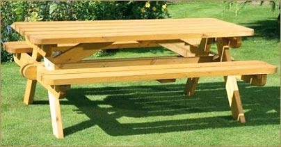 Wooden garden benches Wooden garden furniture Bench MAKNMHF