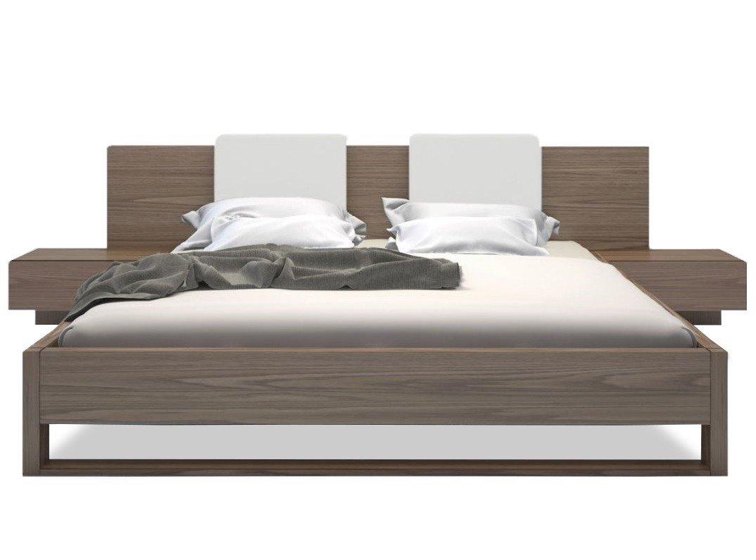 Gault platform bed walnut ADSOEWK