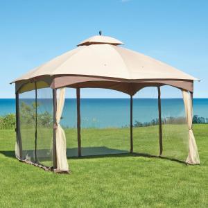 Pavilions double roof Pavillon-l-gz933pst - the home depot FXCFDGM