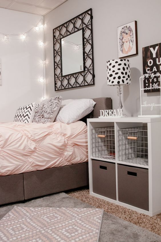 34 furnishing ideas for girls' rooms to change the feeling of space OZMIHPE