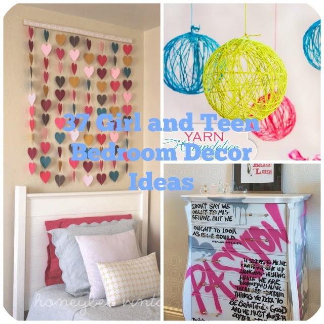 Girls' room decor 37Girls' teens' bedroom decor ELEQEKC