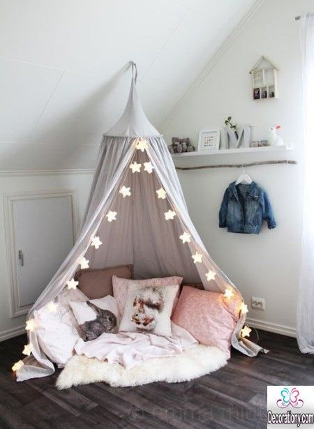 Room ideas for girls 'rooms when choosing decoration ideas for girls' rooms and decorated must-have ROUIFIA