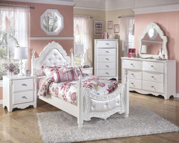 Girls 'bedroom furniture white Girls' bedroom furniture photo - 1 XBSUWXB