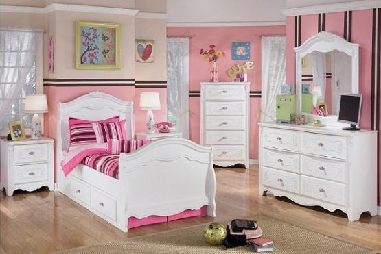 Bedroom furniture for girls WORBMOL