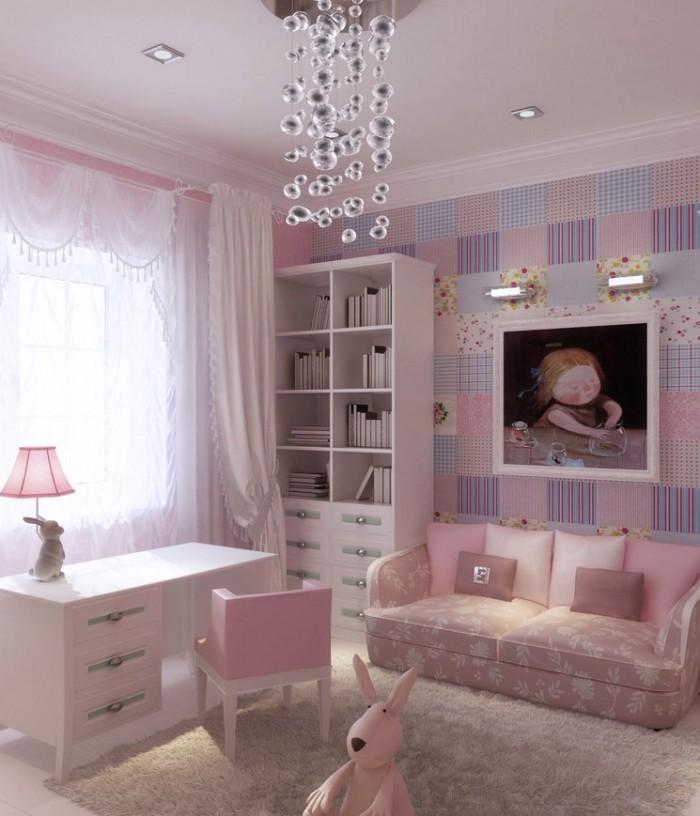 Girls bedroom idea 100 girlsu0027 interior design: tip & pictures WZVRVQU
