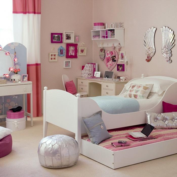 Girls Bedroom Idea 100 girlsu0027 Room Designs: Tip & Images XNLSYFL