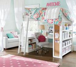Girls bedroom idea teenage girls room ideas |  pbteen VJDBGMN