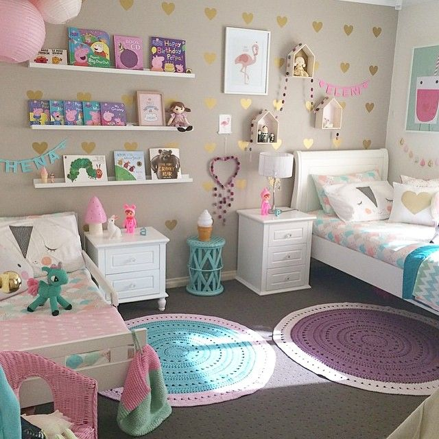 Girls bedroom ideas great design of the white bed and pink decoration ideas with white FJMGWLG