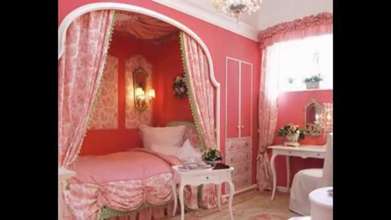 Bedroom sets for girls    Girls bedroom canopy - youtube WONCEEN