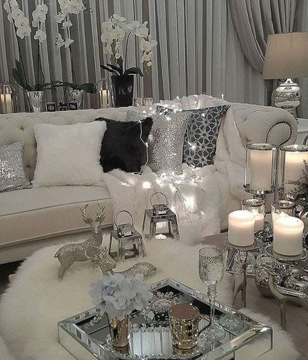 Glam Living Room Ideas