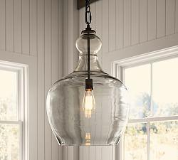 Pendant lights made of glass flynn oversized pendant lights made of recycled glass ... MFWSQQL