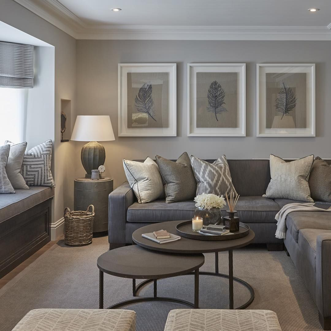 gray living room ideas cuadros más FMTUZNJ