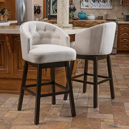 lots of furniture westman swivel bar stool |  fully secured |  QEJVMBF button