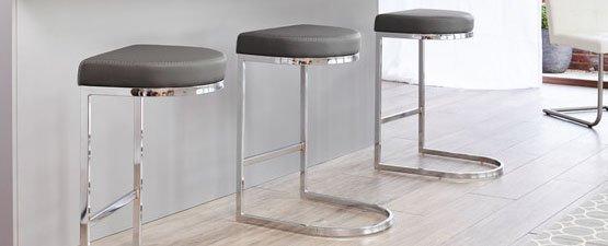 gray breakfast bar stool SYHKUVW