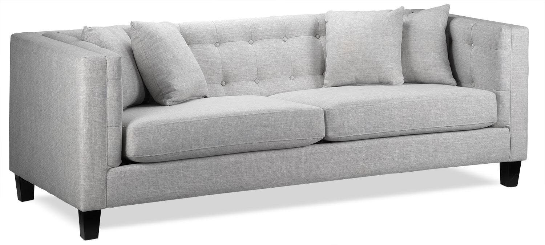 gray couch Astin sofa - gray MHXKFBH