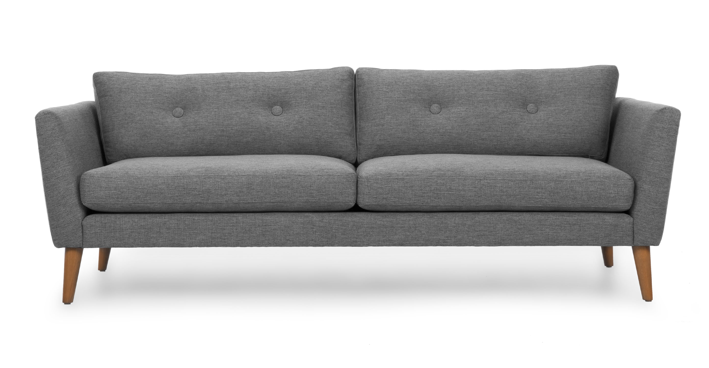 gray couch Emil Gravel gray sofa - Sofas - Article    Modern, Mid-Century and FNQFAEE
