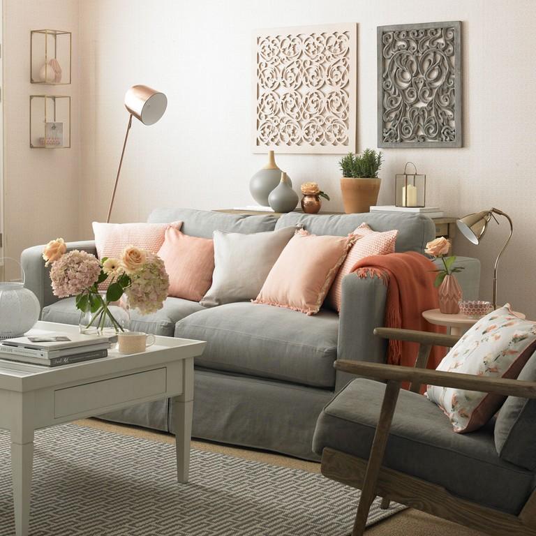 gray living room CVOXKQK