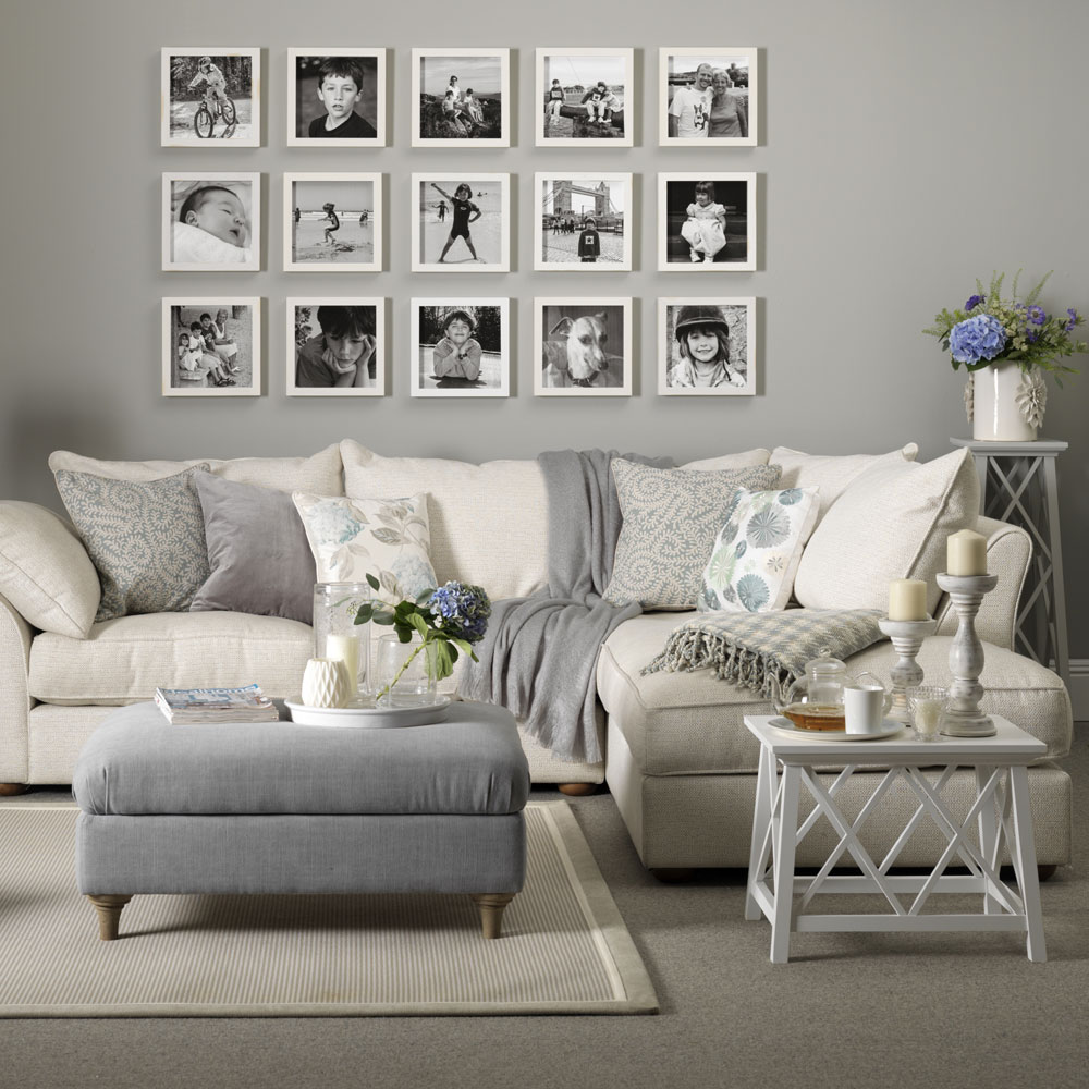 gray living room mix gray with warmer neutrals TFQZWFY