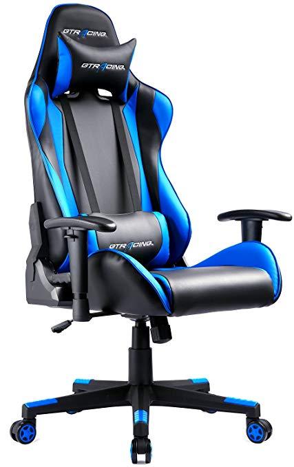 gtracing ergonomic office chair racing chair backrest seat height adjustment computer LHGGKFX