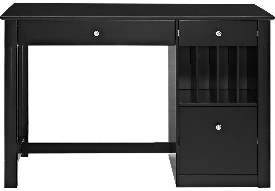 halley black desk - desk black KVQBVOP