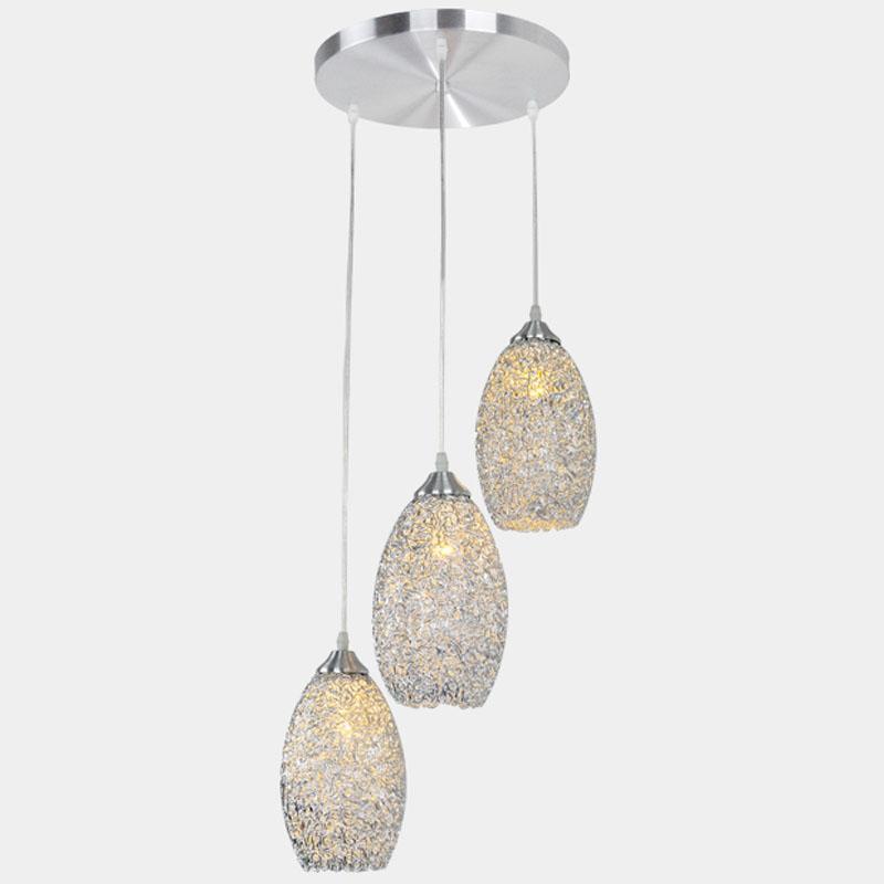 Pendant lights round top aluminum dining room pendant light 3 lights kitchen pendant lights VFXPTAH