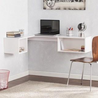 harper blvd freda wall bracket corner desk - white EXKTCET
