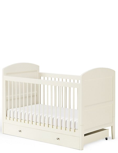 Hastings ivory cot JKDXKTE