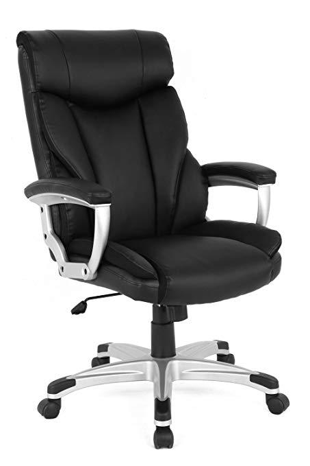 Ergonomic executive office chair with high backrest (05161a) QGSRAID