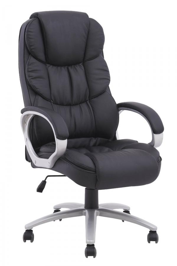 High-back leather office computer chair with metal frame o10 YPBPZGR