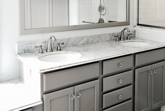 high quality design of quartz bathroom countertops from Signature Kitchen Bath FHUFQKZ