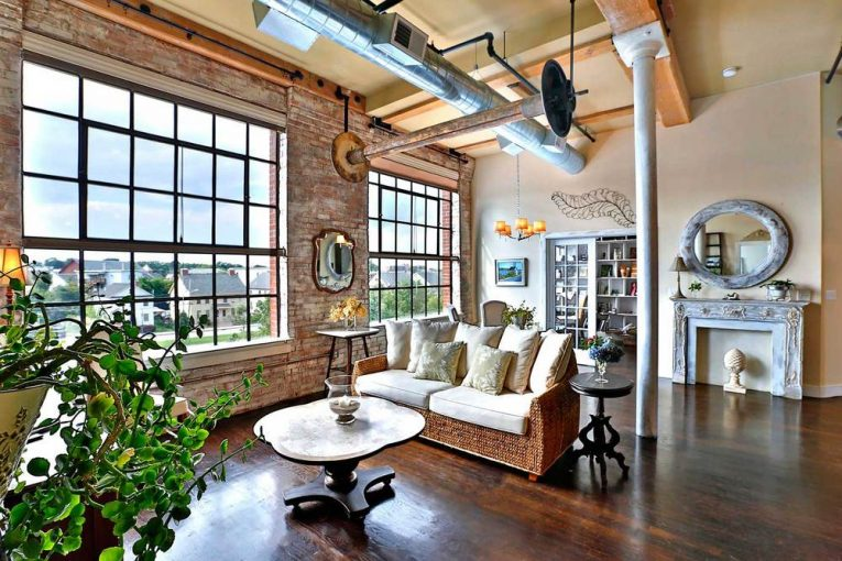 Home decor for residential buildings Industrial home decor elegant creative ways to achieve a style too EWHXXQR