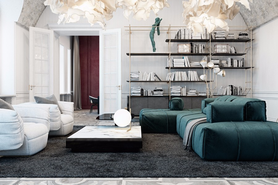 Home decor for the residence the beautiful home decor ideas from a private residence in Italy   ita HWIUVZK