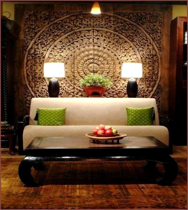 Home decor for the residence the most charming bedroom Asian wall art Asian wall decoration ideas wall REFEHYA