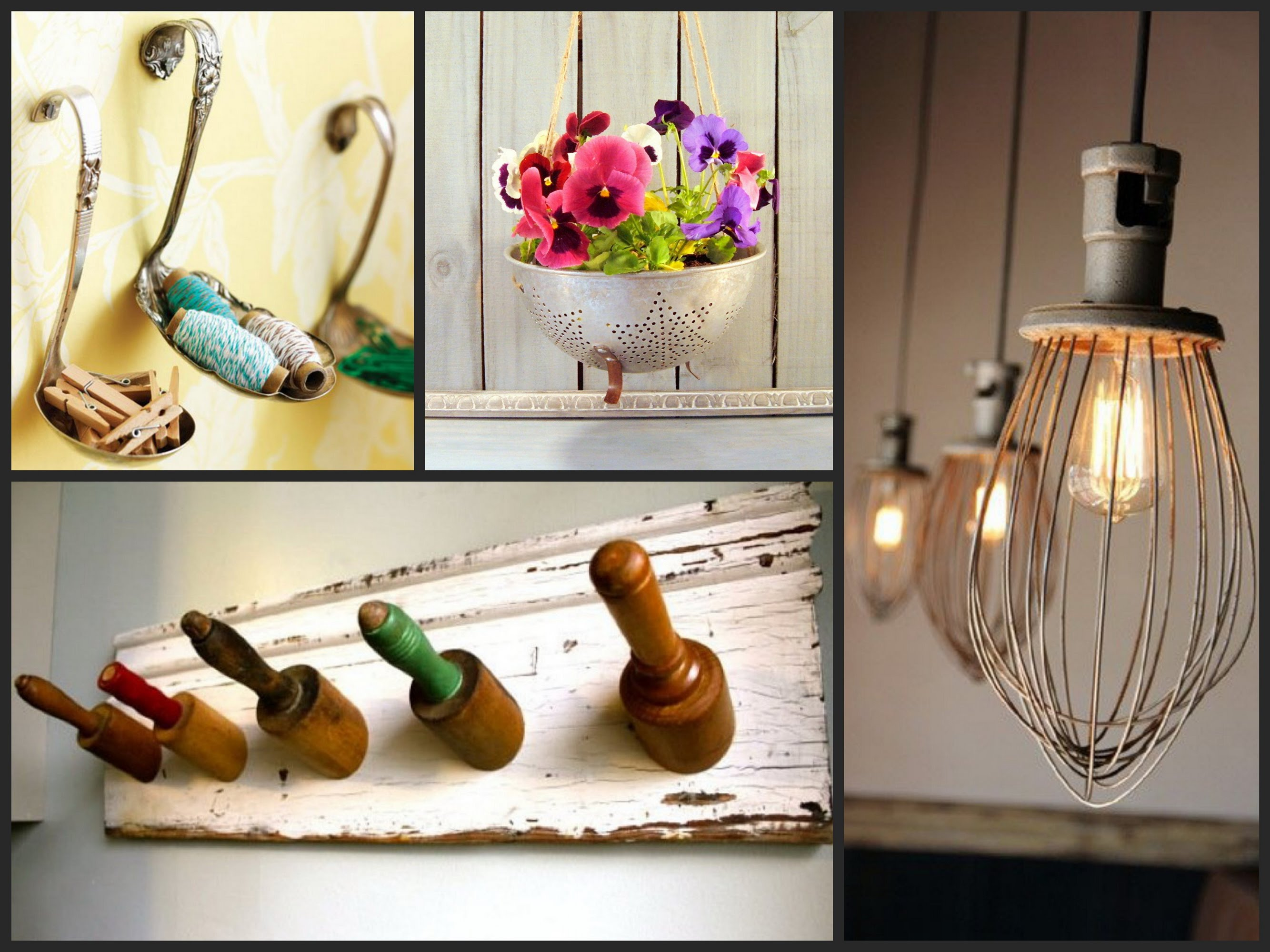 Ideas for home accessories best ideas for reusing old kitchen utensils - recycled kitchen utensils