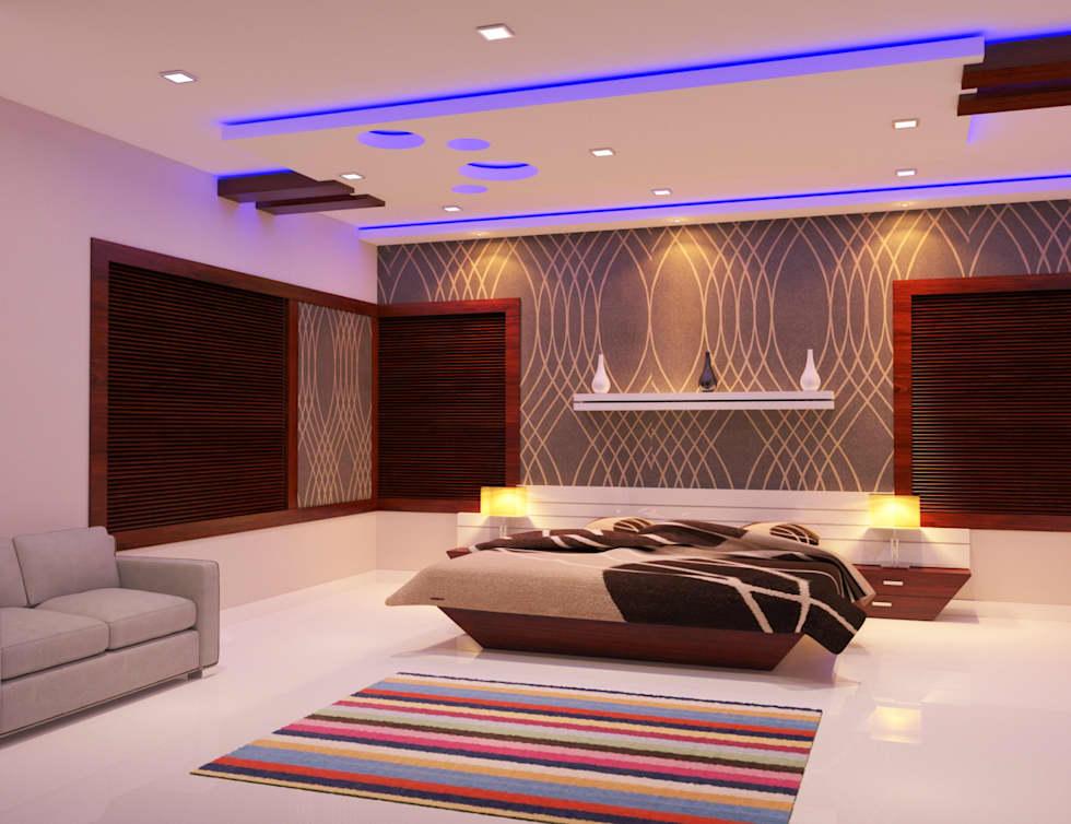 Home interior design complete home interior latest designs: modern living room by nimble interiors GOWXVDO