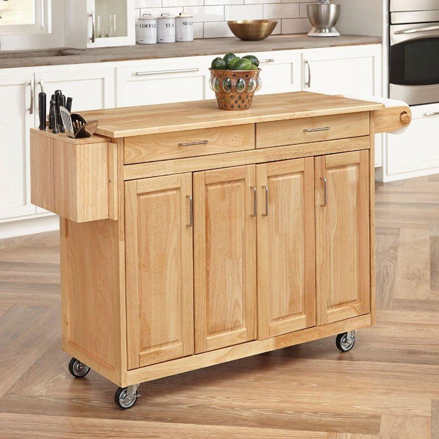 Home Styles brown Scandinavian kitchen trolley RCIHAAC