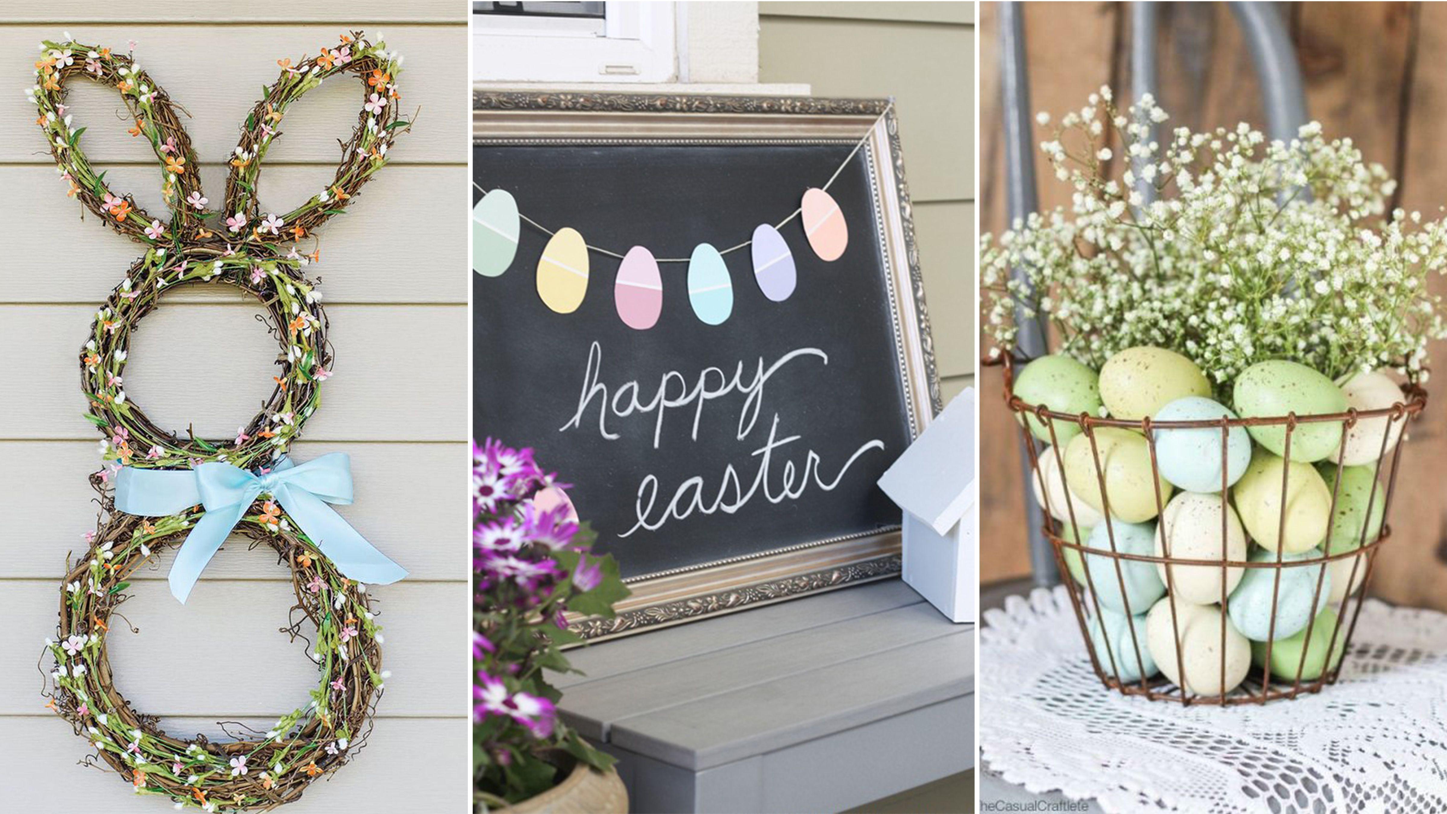 homemade Easter decoration DTGXWLK