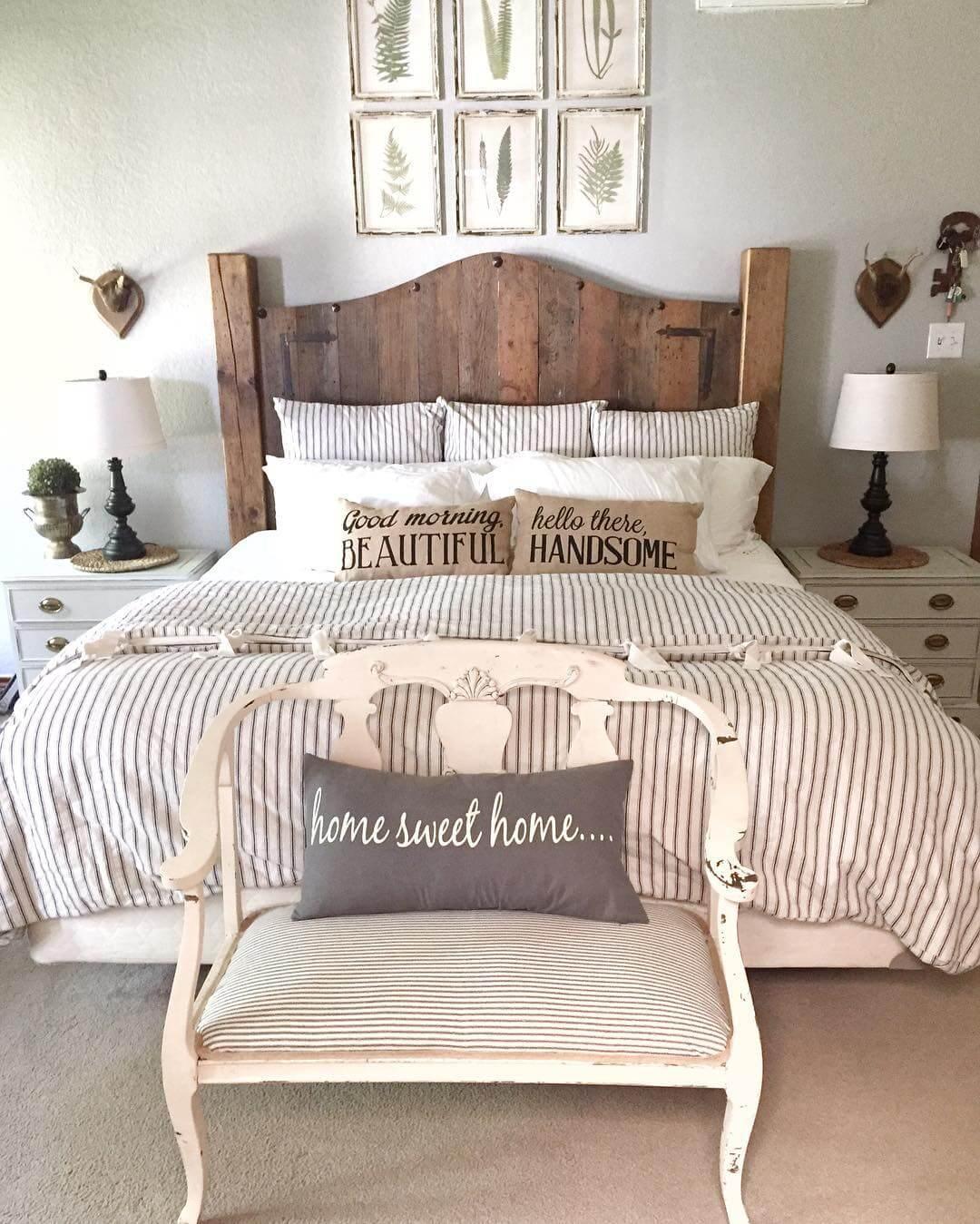 Homestead chic romantic bedroom decorating ideas on a budget LMBRIOR