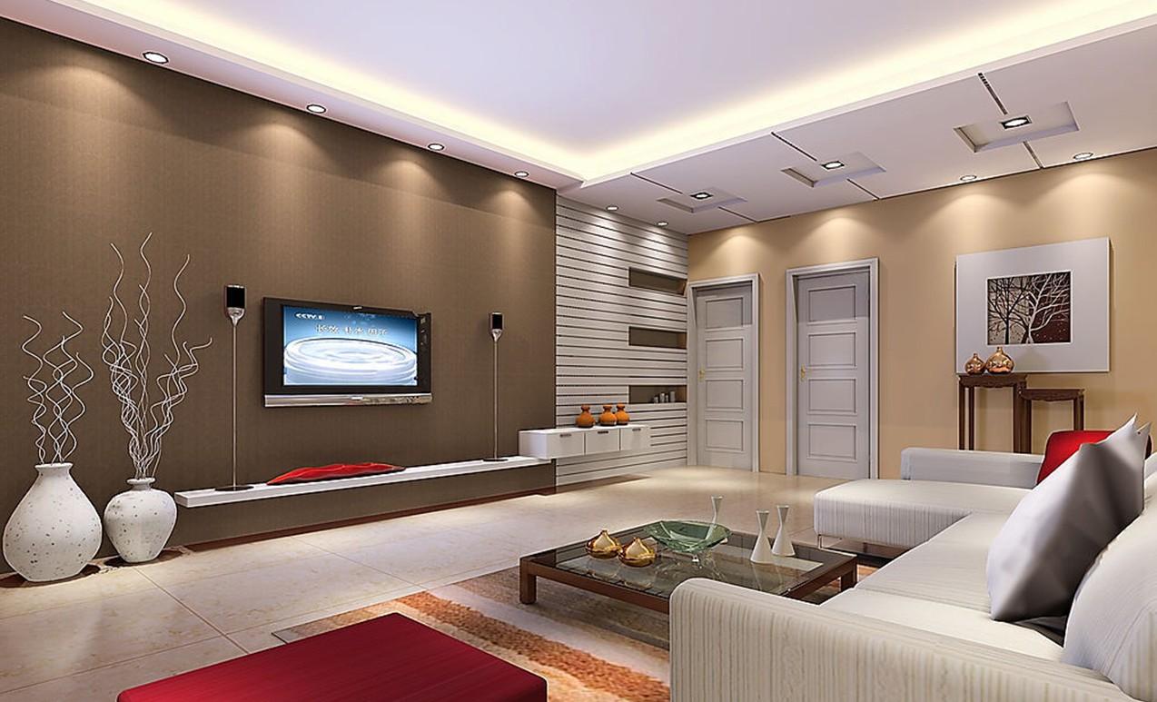 house interior design living room minimalist spacious modern interiors house ... MWAJDFO