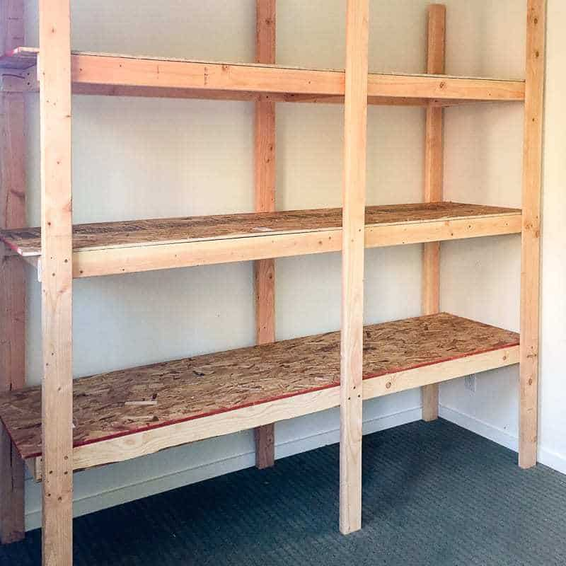 How to Build Storage Racks for Less than $ 75 - the handymanu0027s HOEMKCW