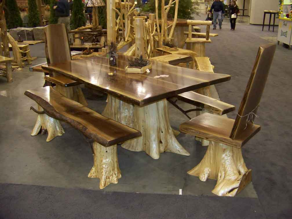 How do you care for rustic wooden furniture?  JSBQQSY